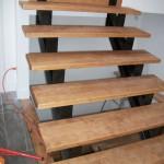 escalier sur pivots