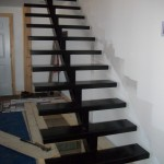 escalier sur pivot