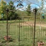 Tonnelle et barrieres