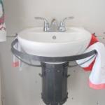 support de lavabo