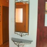 miroir et table a gant