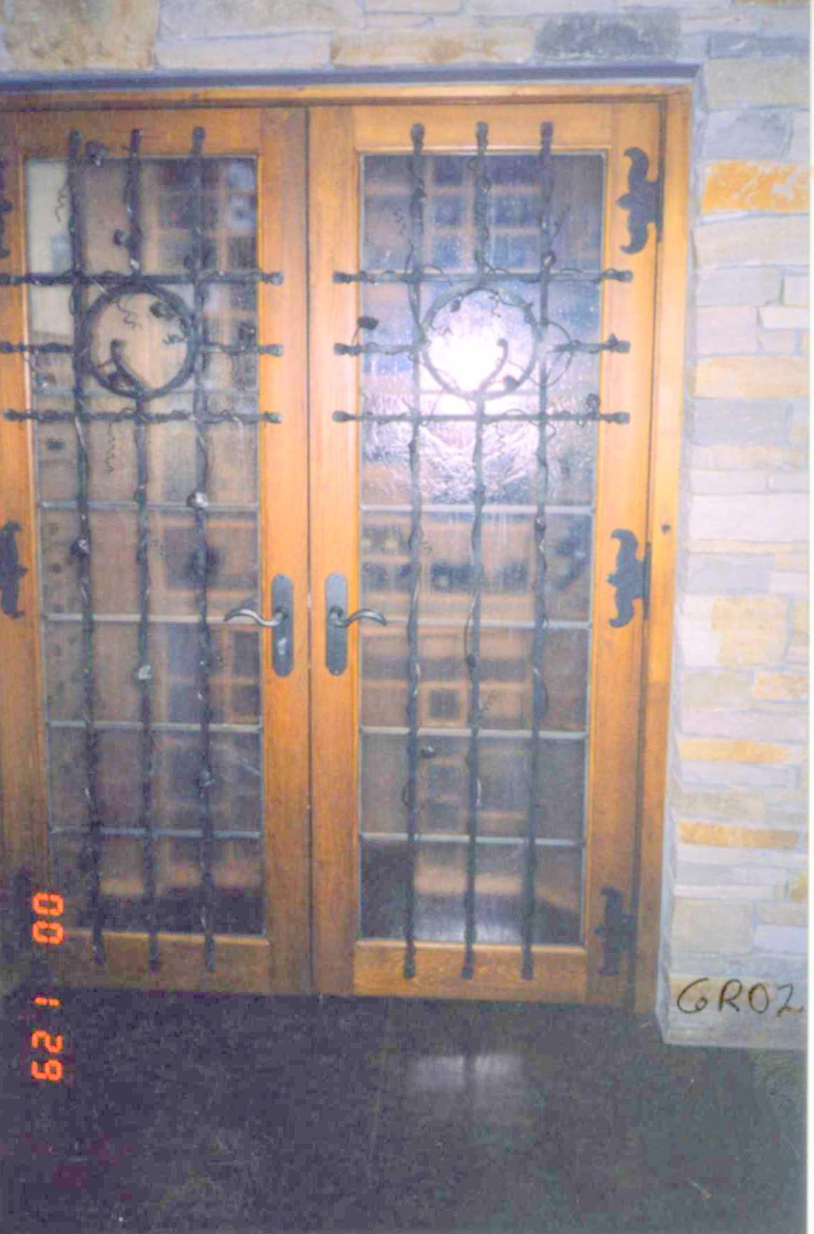 Grillages de portes